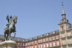 Equestrian statue Royalty Free Stock Images