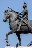 Equestrian statue of the Venetian general Gattamelata in Padua, Stock Photography