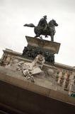 Equestrian statue of Vittorio Emanuele II Royalty Free Stock Image