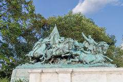 Equestrian Statue Washington DC Royalty Free Stock Photo