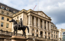 Equestrian statue of Wellington in London Royalty Free Stock Photo