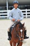 Equestrianism imagen de archivo