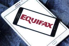 Equifax firmy logo Fotografia Royalty Free