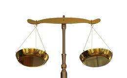 equilíbrio da ilustração 3D de justiça ilustração royalty free