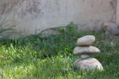 Equilíbrio da rocha Foto de Stock Royalty Free