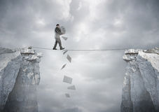 Equilíbrio do negócio Imagem de Stock