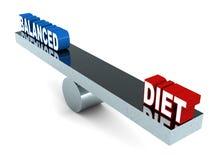 Dieta equilibrata Immagine Stock