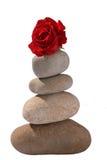 Equilibratura della roccia Fotografie Stock