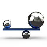 equilibrio ilustración del vector