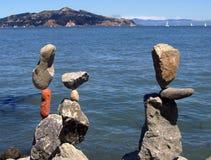 Equilibrio attento Fotografia Stock Libera da Diritti
