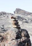 Equilibrio de piedra Imagen de archivo libre de regalías