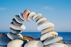 Equilibrio degli archi Fotografia Stock