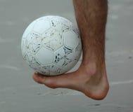 Equilibrio del piede destro Fotografia Stock Libera da Diritti