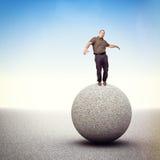 Equilibrio del ritrovamento Fotografia Stock Libera da Diritti