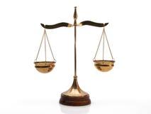 Equilibrio della giustizia Fotografie Stock