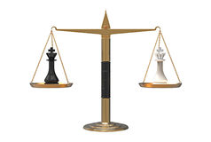 Equilibrio delle forze Fotografia Stock Libera da Diritti