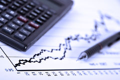 Equilibrio di affari Immagini Stock