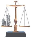 Equilibrio di Bronse Fotografia Stock