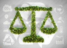 Equilibrio di ecologia Immagini Stock Libere da Diritti