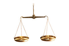Equilibrio di legge fotografia stock libera da diritti