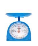 Equilibrio di misura del peso Immagini Stock Libere da Diritti