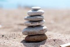 Equilibrio di pietra Fotografia Stock Libera da Diritti