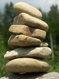 Equilibrio di pietra Immagini Stock