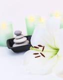 Equilibrio di zen e della stazione termale Fotografie Stock