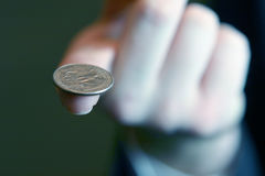 Equilibrio financiero del asunto fotos de archivo libres de regalías