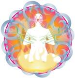 Equilibrio perfetto del OM royalty illustrazione gratis