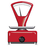 Equilibrio rosso Immagine Stock