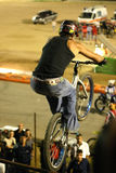 Equilibrium. Nice bike contest in my town stock photo