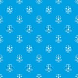 Equilibrium pattern vector seamless blue. Repeat for any use Stock Photo