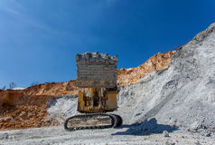 Equipement on Cooper mine - Open pit 21 Royalty Free Stock Photo