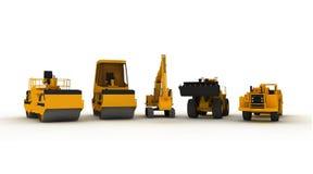 Equiment und Fahrzeuge vektor abbildung