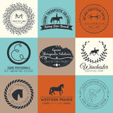 Equine Logo Stock Photo
