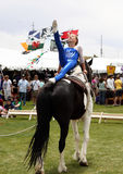 Equine Vaulting Stock Photos