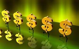 Equipa carreg do símbolo dourado fazem Imagens de Stock Royalty Free
