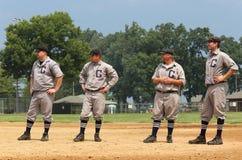 Equipa de beisebol clássica Fotos de Stock