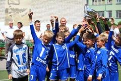 Equipa de futebol Imagem de Stock Royalty Free