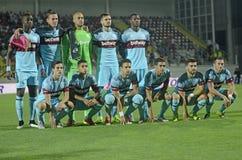 Equipa de futebol ocidental de Ham United Fotos de Stock Royalty Free