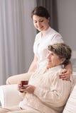 Equipa de tratamento nova de inquietação Fotografia de Stock Royalty Free
