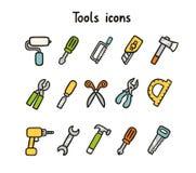 Equipa iconos Fotos de archivo libres de regalías