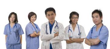 Equipa médica Fotos de Stock Royalty Free