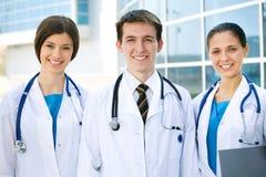 Equipa médica Imagem de Stock Royalty Free