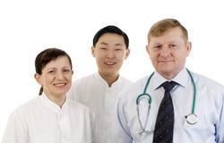 Equipa médica. Imagens de Stock