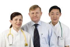Equipa médica. Fotografia de Stock