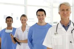 Equipa médica Imagens de Stock Royalty Free