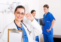 Equipa médica Foto de Stock Royalty Free