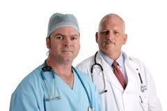 Equipa médica competente fotos de stock royalty free